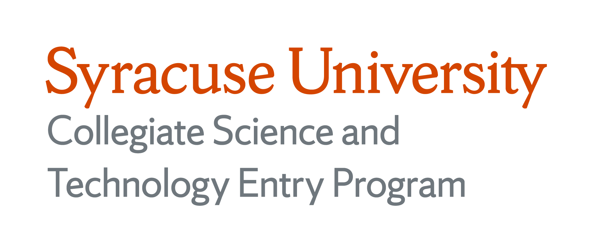 Syracuse University Collegiate Science and Technology Entry Program