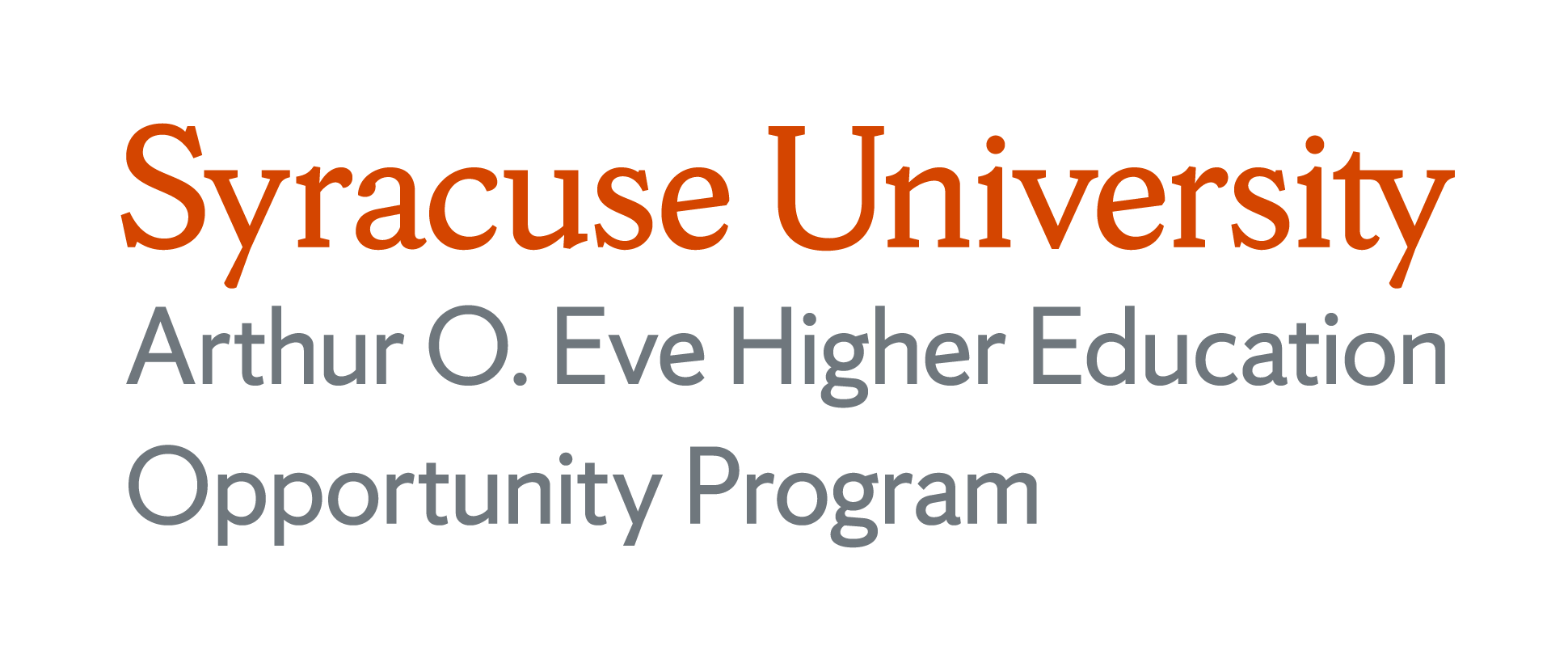 Syracuse University Arthur O. Eve Higher Education Opportunity Program