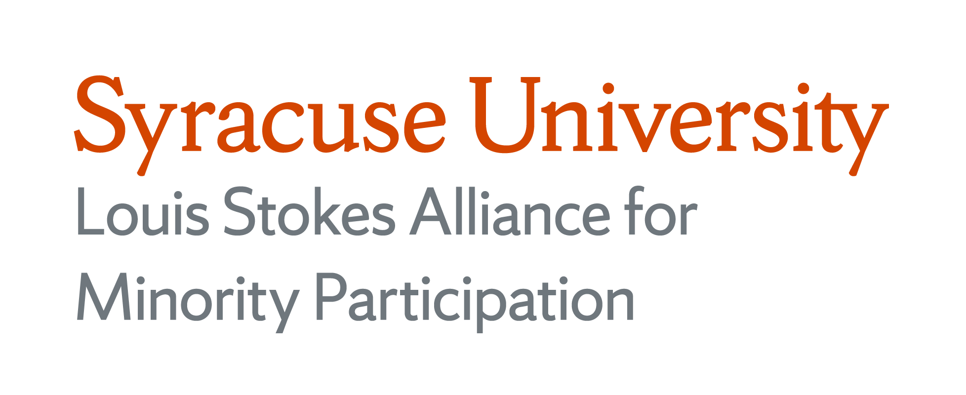 Syracuse University Louis Stokes Alliance for Minority Participation
