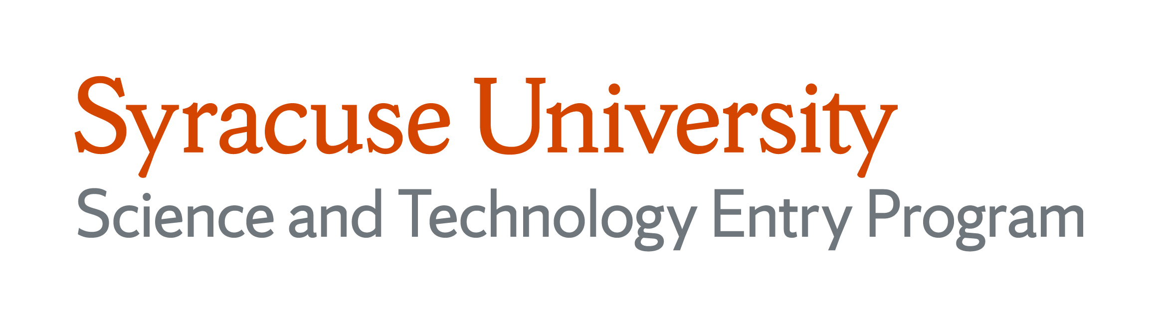 Syracuse University Science and Technology Entry Program